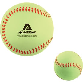 Promotional Softball Stress Ball