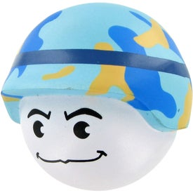 Branded Soldier Mad Cap Stress Toy