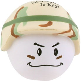 Soldier Mad Cap Stress Ball for Your Church