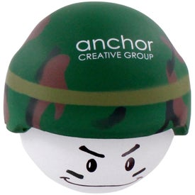 Advertising Soldier Mad Cap Stress Ball