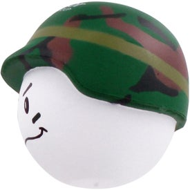 Soldier Mad Cap Stress Ball for Promotion