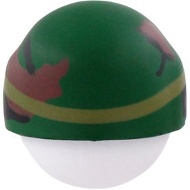 Promotional Soldier Mad Cap Stress Ball