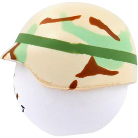 Monogrammed Soldier Mad Cap Stress Ball