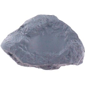 Gray Rock Stress Ball Printed with Your Logo