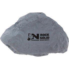 Gray Rock Stress Ball