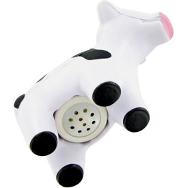 Sound Chip Milk Cow Stress Toy for Your Company