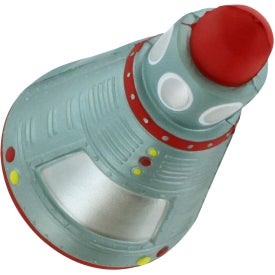 Space Capsule Stress Reliever with Your Slogan