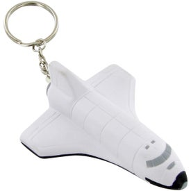 Company Space Shuttle Keychain Stress Toy