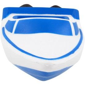 Personalized Speedboat Stress Ball