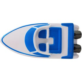 Branded Speedboat Stress Ball