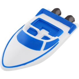 Speedboat Stress Ball Branded with Your Logo