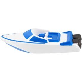 Speedboat Stress Ball for Advertising