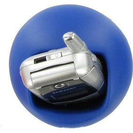 Sphere Cell Phone Holder Stress Ball Printed with Your Logo