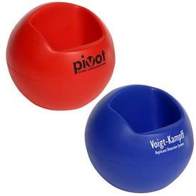 Sphere Cell Phone Holder Stress Ball