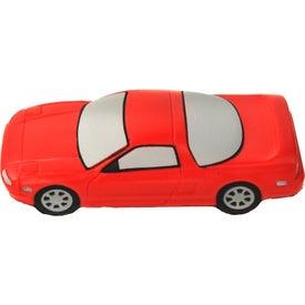 Imprinted Sports Car Stress Ball