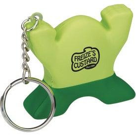Spunky Stress Keychain Guy for Promotion