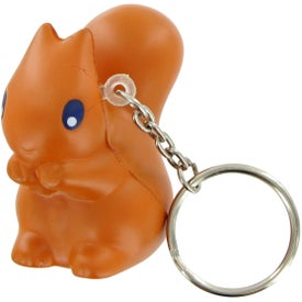 Squirrel Keychain Stress Toy