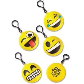 Squishy Emoji Clip-On Keychain