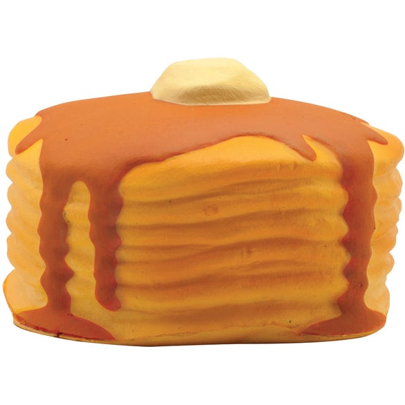 Orange / Brown Stack of Pancakes Stress Reliever