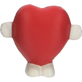 Standing Heart Stress Ball