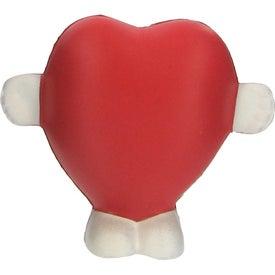 Standing Heart Stress Ball