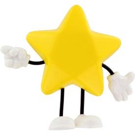 Promotional Star Figure Stress Ball