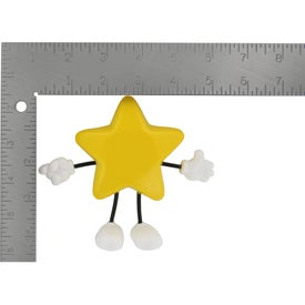Printed Star Figure Stress Ball