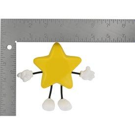 Printed Star Figure Stress Ball
