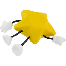 Star Figure Stress Ball Branded with Your Logo