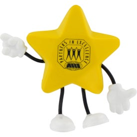 Star Figure Stress Balls