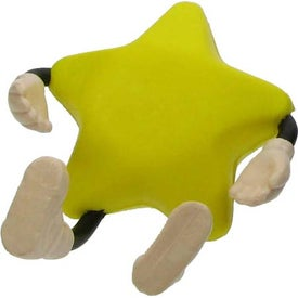 Custom Star Figure Stress Ball