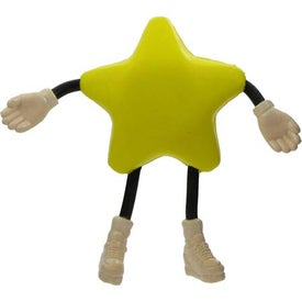Star Figure Stress Ball for Your Organization