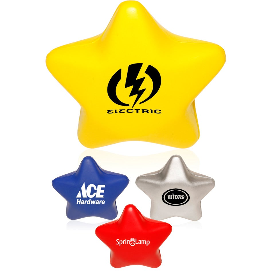Star Squeeze Toys