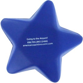 Customized Star Stress Reliever