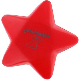 Star Stress Reliever Imprinted with Your Logo