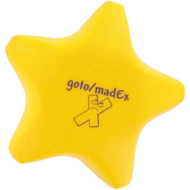 Branded Star Stress Reliever