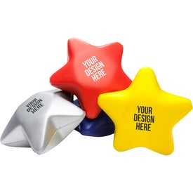Star Stress Reliever with Your Logo