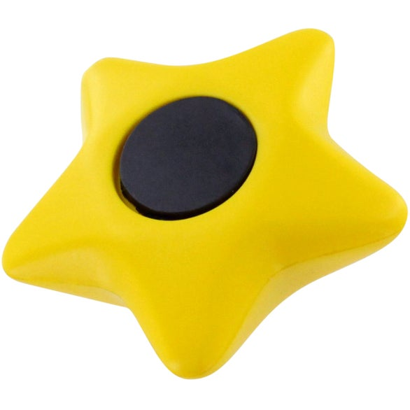 Yellow Star Stress Ball Magnet
