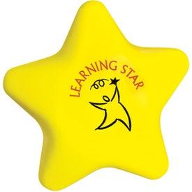 Imprinted Star Stressball