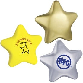 Soft Star Stress Ball