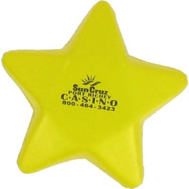 Star Stress Ball for Promotion