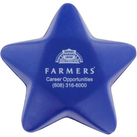 Personalized Star Stress Balls