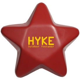 Customized Star Stress Balls