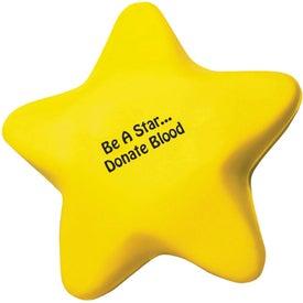 Custom Star Stress Reliever