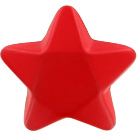 Imprinted Star Stress Toy