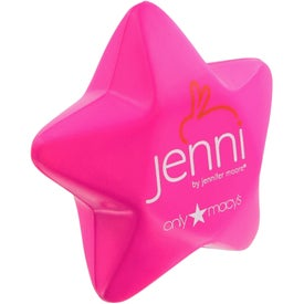Custom Star Stress Toy