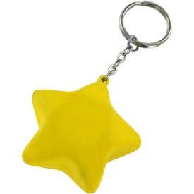 Star Stress Ball Key Chain Giveaways
