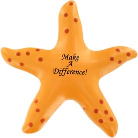 Starfish Stress Ball Imprinted with Your Logo