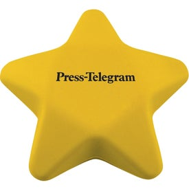 Yellow Star Stress Reliever