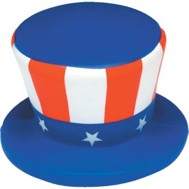 Monogrammed Uncle Sam Hat Stress Ball